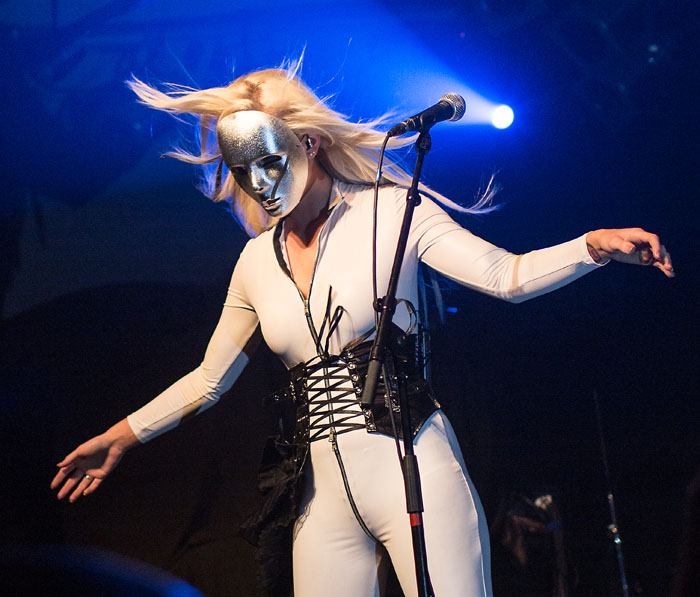 Azylya - Dames Of Darkness Festival, 11 May 2013