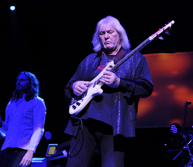 Yes - Clyde Auditorium, Glasgow, 2 May 2014