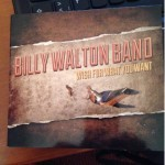 Album review: BILLY WALTON BAND – Wish For What You Want