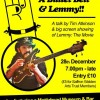 Gig review: The Choir Boy, A Bullet Belt & Lemmy by Tim Atkinson – Saffron Waldren, 28 December 2017