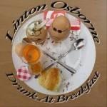 Album review: LINTON OSBOURNE – Drunk At Breakfast