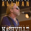 DVD review: GREGG ALLMAN – Live On Stage In Nashville