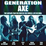 Album review: GENERATION AXE – The Guitars That Destroyed The World (Live In China)