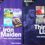 Book Review: ON TRACK (every album, every song…) – IRON MAIDEN (by Steve Pilkington) and THIN LIZZY (by Graeme Stroud)