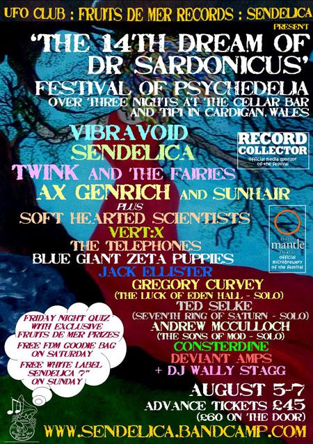 The 14th Dream Of Dr.Sardonicus Festival, 5-7 August 2016