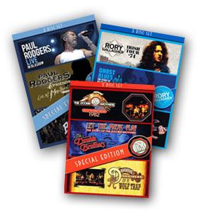 Eagle Rock triple DVD sets