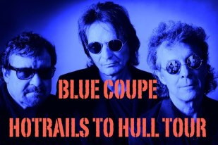 Blue Coupe Hot Rails To Hull