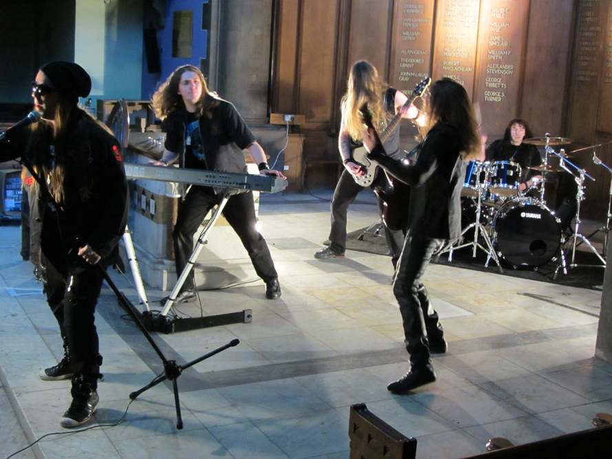 Code Of Silence video shoot
