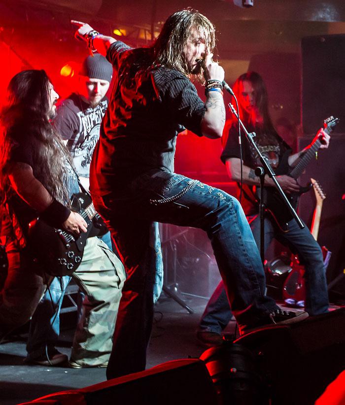 Black And Souls, Hammerfest V, March 2013