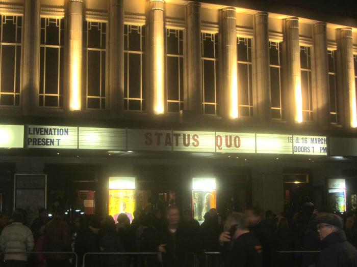 Status Quo, Hammersmith Apollo, 15 March 2013
