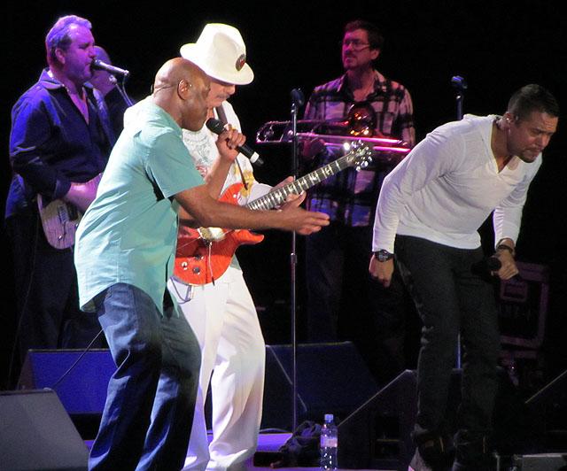 Santana - LG Arena, Birmingham,17 July 2013