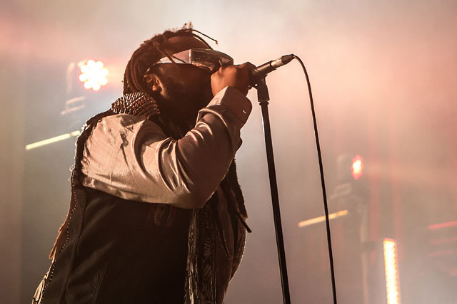 Skindred - Manchester Academy, 2 February 2014
