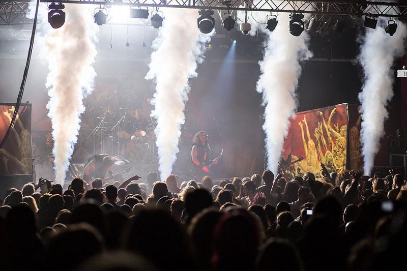 Kreator - Hammerfest, Pwllheli, Wales, 15 March 2014
