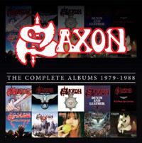 SAXON - The Complete Albums 1979-1988