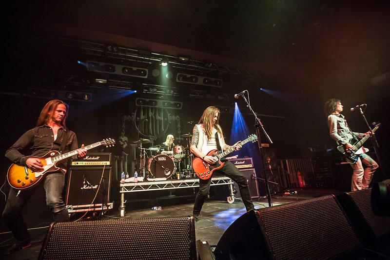 Bonafide - Hard Rock Hell AOR, 21 March 2014