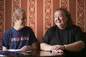 Pete Feenstra and Bernie Marsden, June 2014