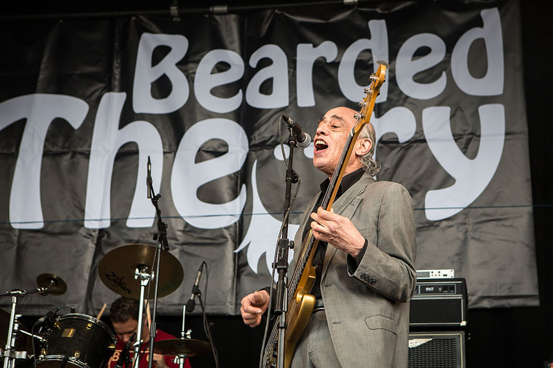 The Blockheads - Bearded Theory Festival, Catton Hall, Derbyshire, 22-25 May 2014