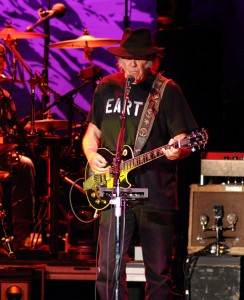 Neil Young and Crazy Horse, Hyde Park, 12 July 2014