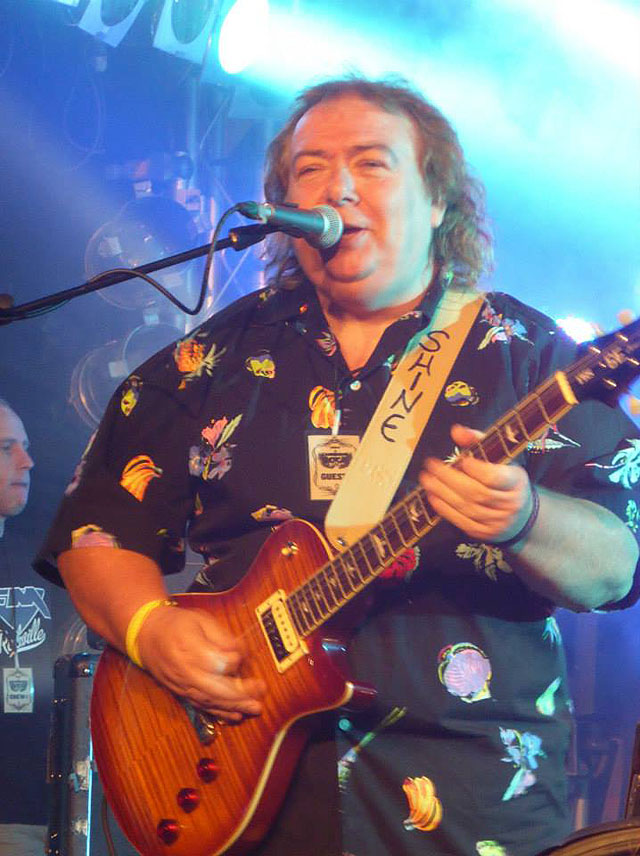 Cambridge Rock Festival 2014 - Bernie Marsden