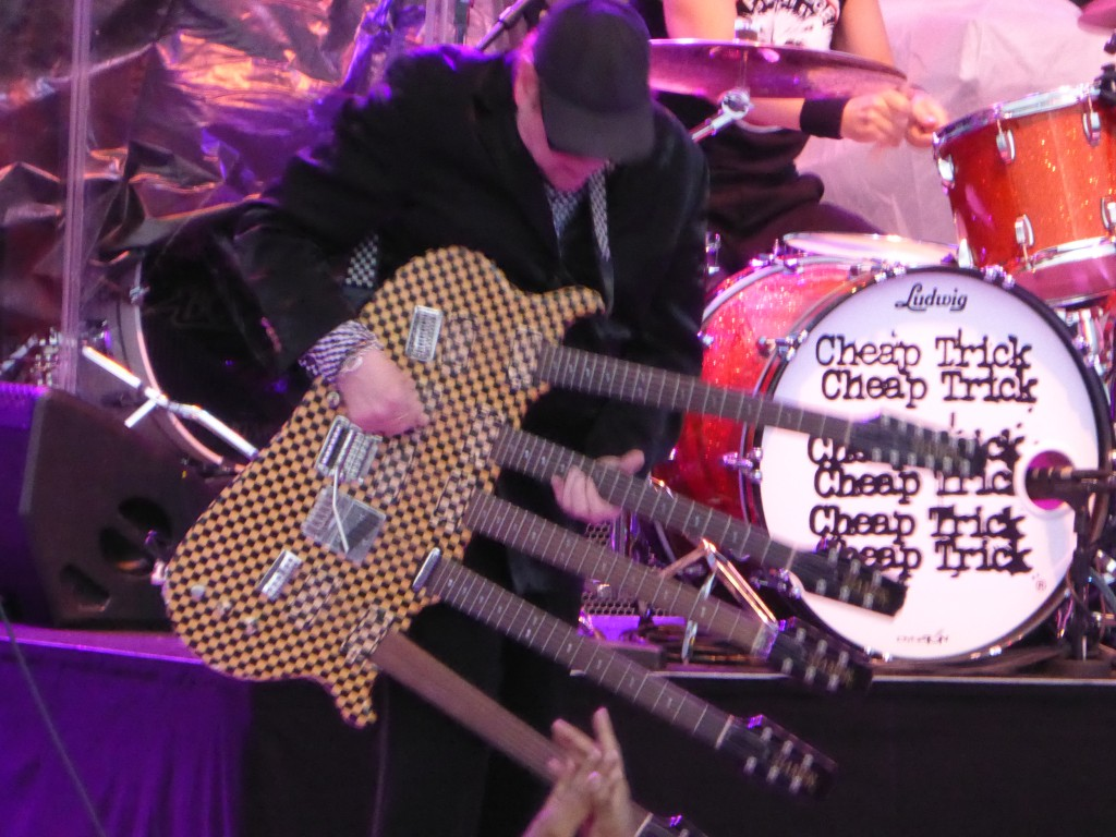 Cheap Trick - Sandia Casino Amphitheatre, Albuquerque, New Mexico USA, 22 July 2014