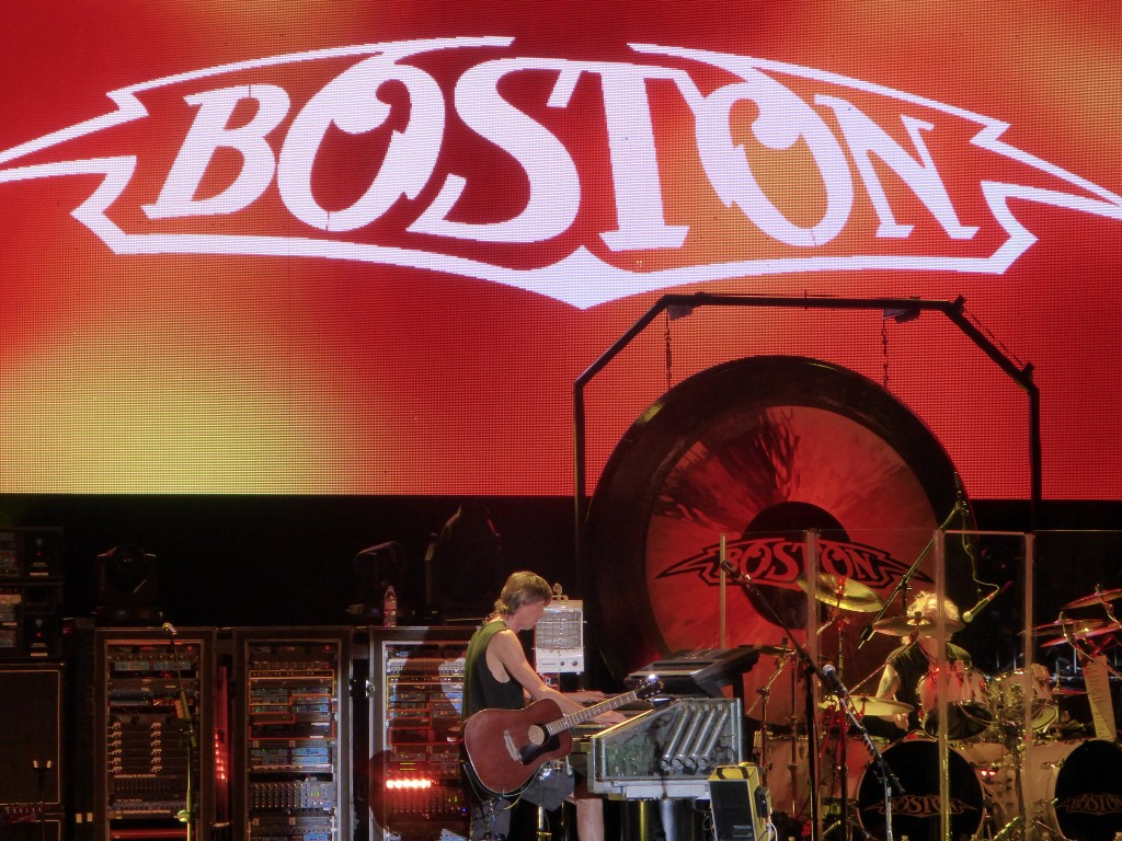 BOSTON, CHEAP TRICK - Sandia Casino Amphitheatre, Albuquerque, New Mexico USA, 22 July 2014