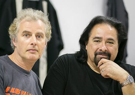 Pete Feenstra and Coco Montoya
