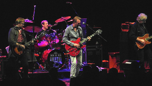 BIG COUNTRY – Concert Hall, Perth, 28 September 2014