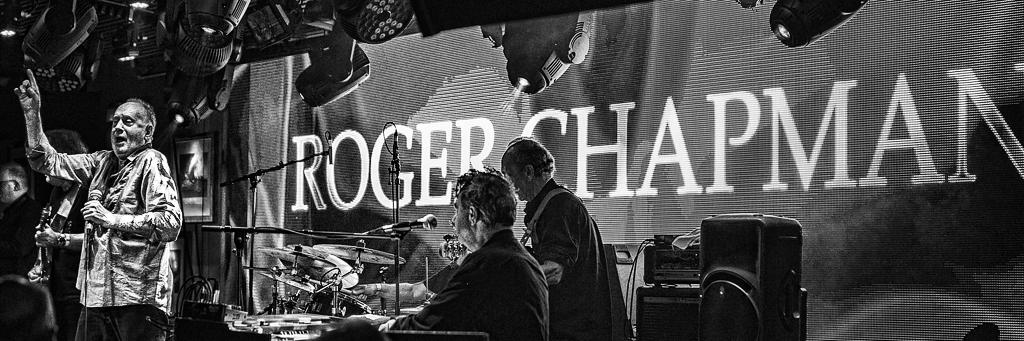 ROGER CHAPMAN & THE SHORTLIST– Under The Bridge, London, 10 September 2014