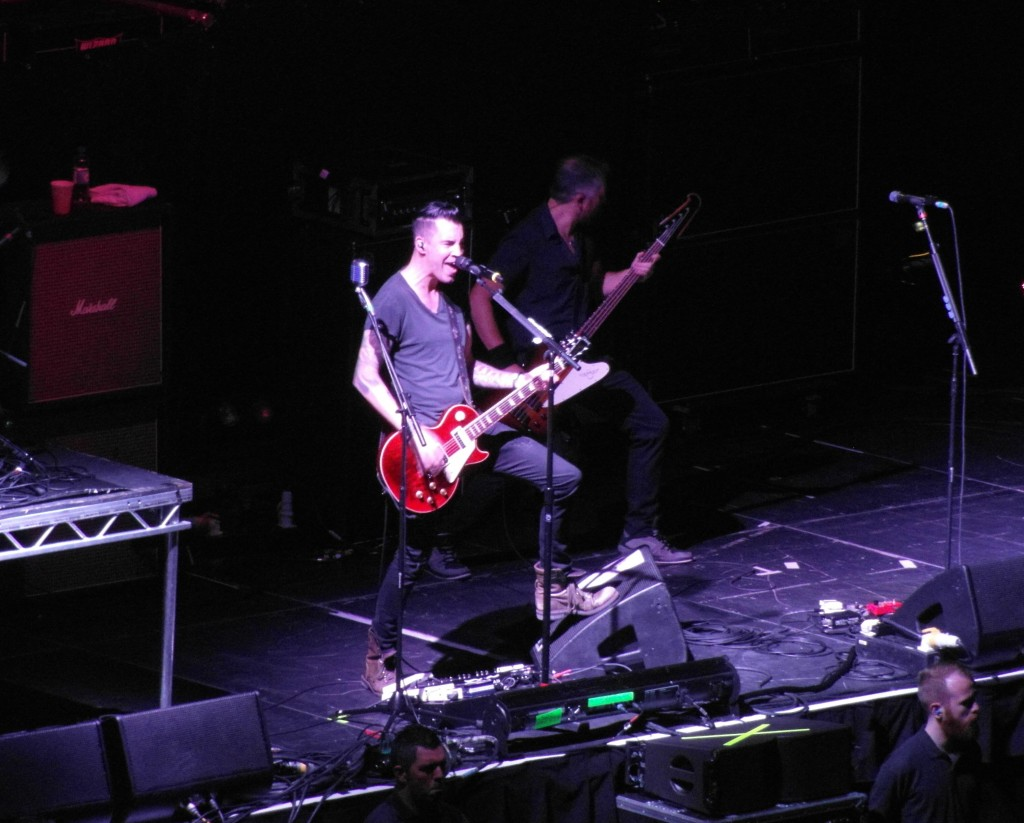 Theory Of A Deadman – The Hydro, Glasgow, 26 October 2014