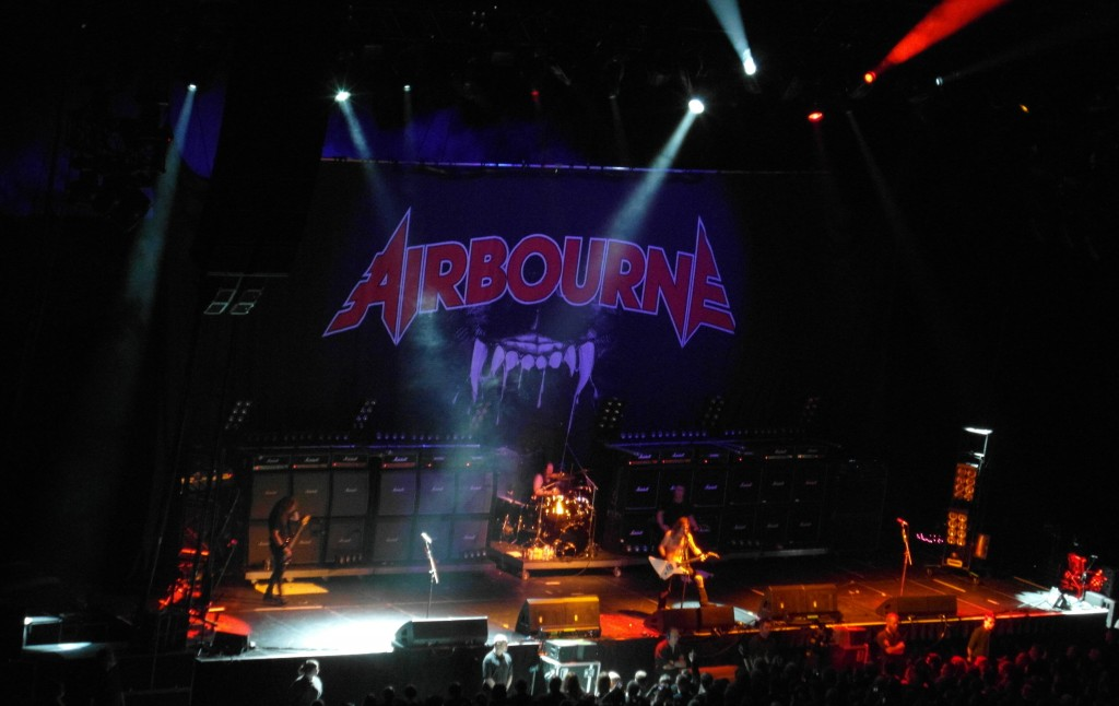 Airbourne – The Hydro, Glasgow, 26 October 2014