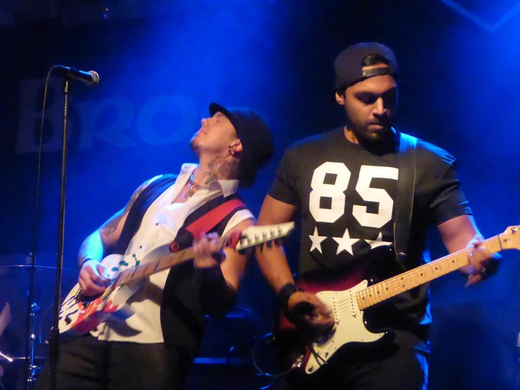 Summers - The Brook, Southampton, 21 November 2014