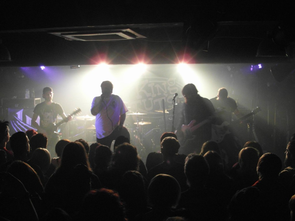 THE BLACKOUT – King Tut's, Glasgow, 5 November 2014