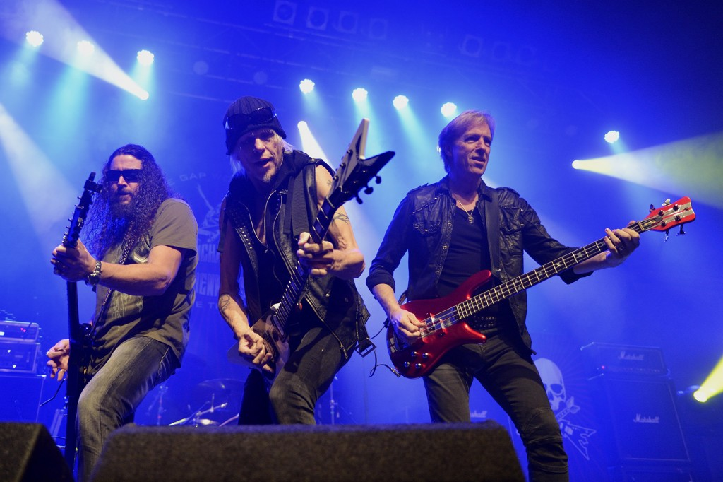 MICHAEL SCHENKER'S TEMPLE OF ROCK – O2 ABC, Glasgow, 11 December 2014