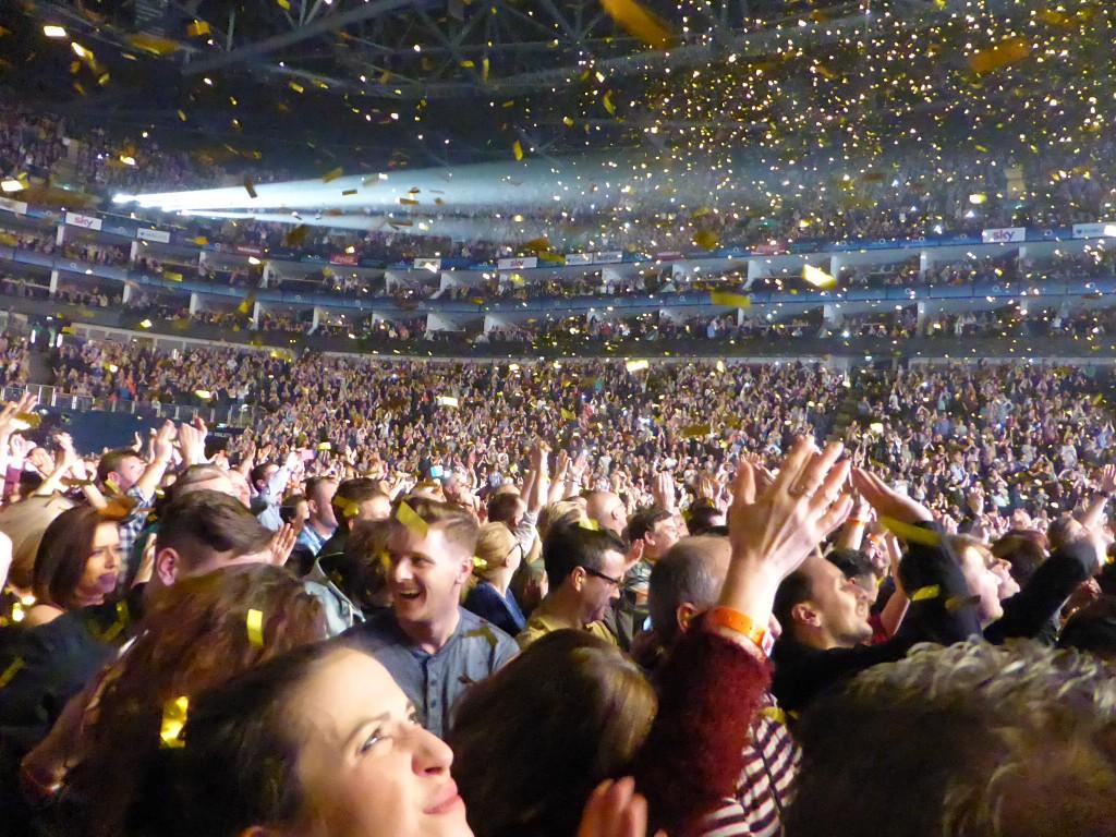 QUEEN & ADAM LAMBERT - 02 Arena, London, 18 January 2015