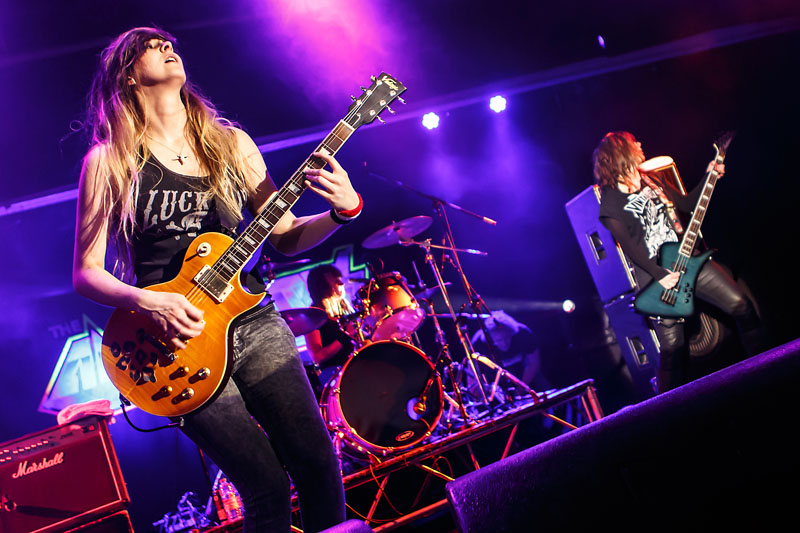 The Amorettes - Giants Of Rock, Minehead, 6-8 February 2015