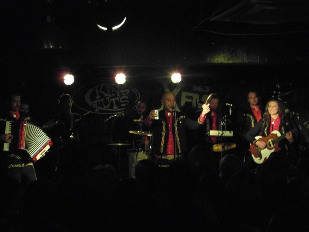 MARIACHI EL BRONX – King Tuts, Glasgow, 4th February 2015