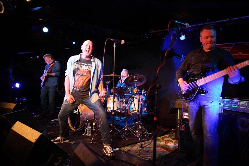 No Hot Ashes - Bierkeller, Bristol, 1 May 2015