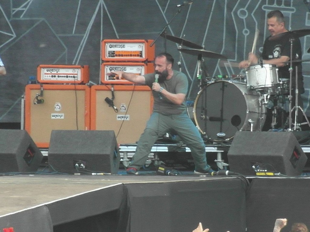 Clutch - DOWNLOAD FESTIVAL – DAY 1,12 June 2015