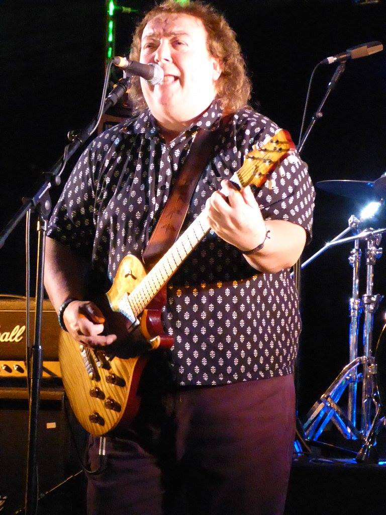 Bernie Marsden - RAMBLIN' MAN FESTIVAL DAY 2 - Mote Park, Maidstone - 26 July 2015