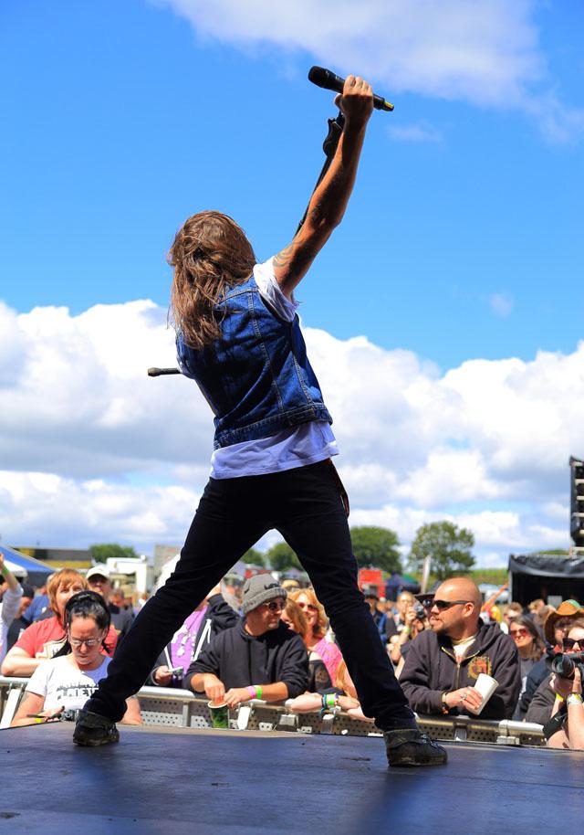 STEELHOUSE FESTIVAL Day 1 - Ebbw Vale, S.Wales, 25 July 2015