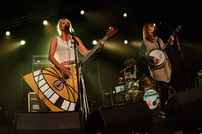 Katzenjammer - Cambridge Folk Festival, 30 July-2 August 2015