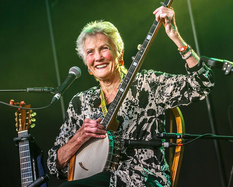 Peggy Seeger - Cambridge Folk Festival, 30 July-2 August 2015