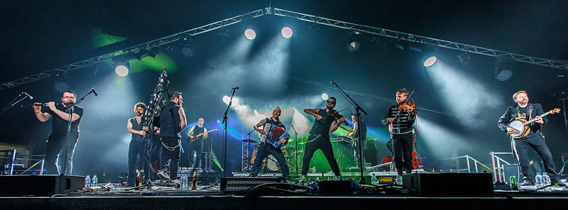 The Treacherous Orchestra - Cambridge Folk Festival, 30 July-2 August 2015
