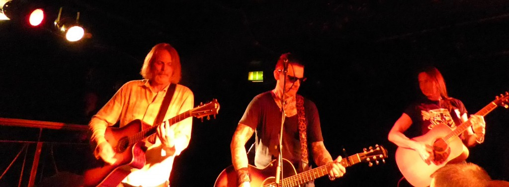 RICKY WARWICK AND DAMON JOHNSON - Camden Underworld, London, 10 September 2015