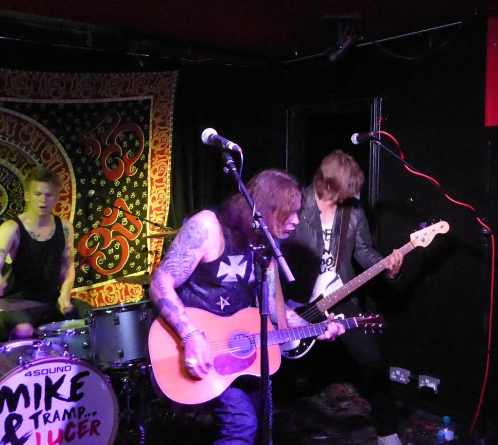 MIKE TRAMP - Black Heart, Camden, 24 September 2015