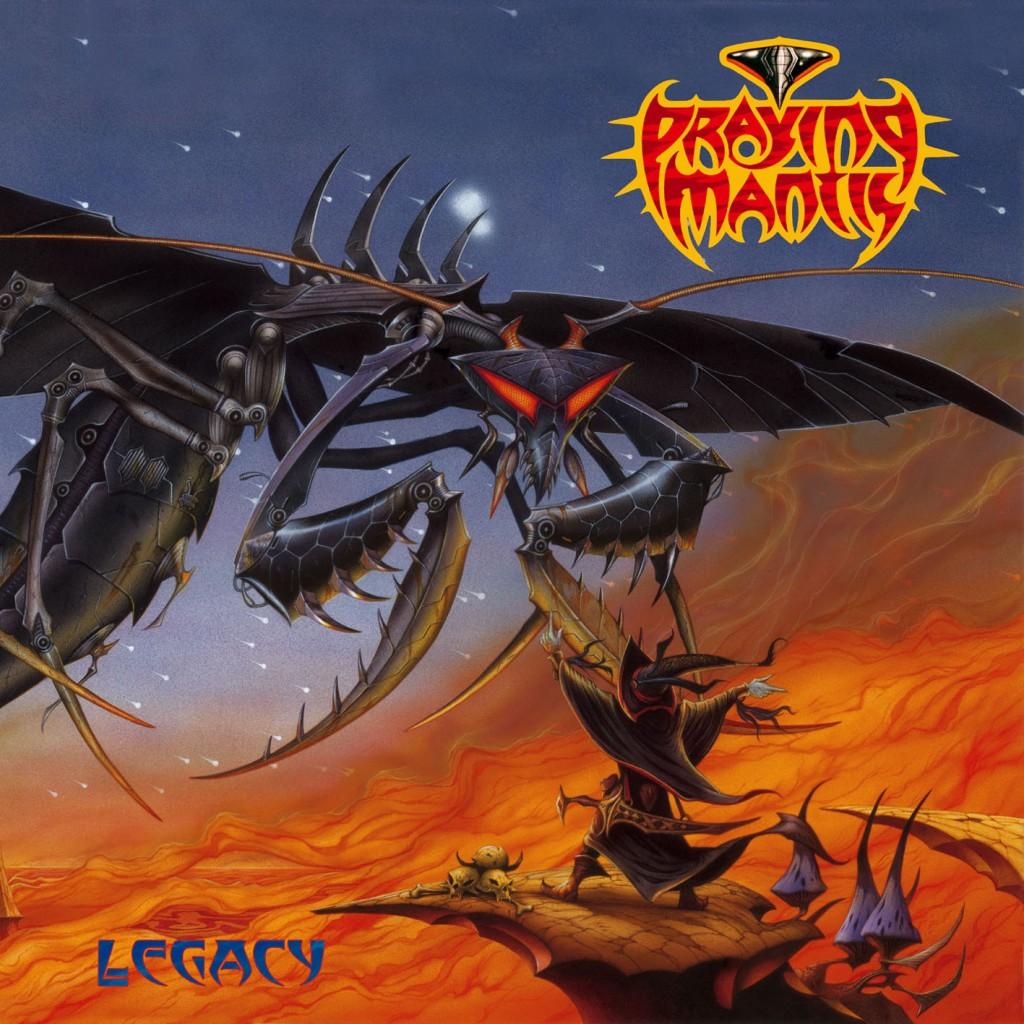 PRAYING MANTIS legacy COVER