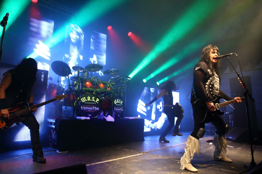 WASP – 02 Academy, Glasgow, 18 September 2015