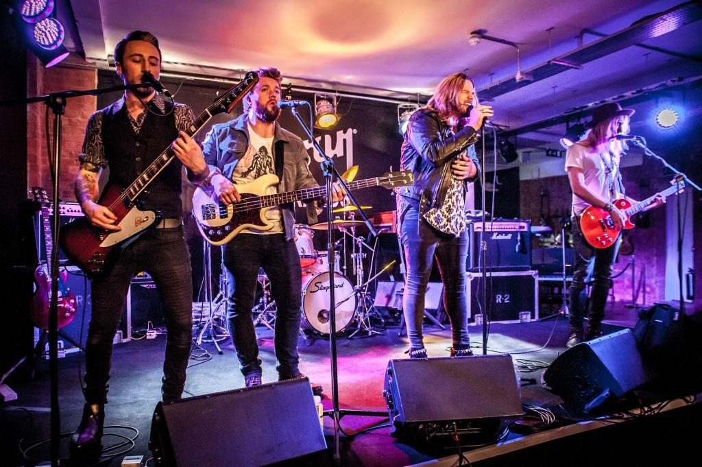 INGLORIOUS - Gibson Guitar Studios, London, 19 November 2015