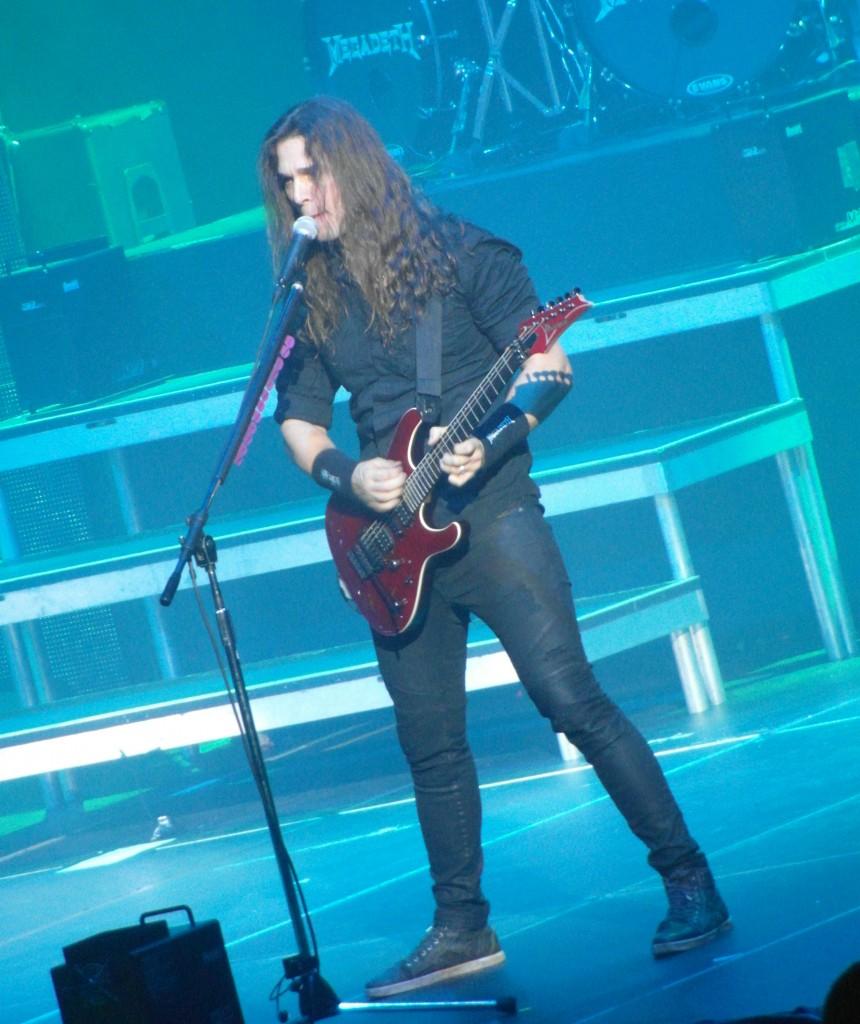Megadeth – Braehead Arena, Glasgow, 11 November 2015