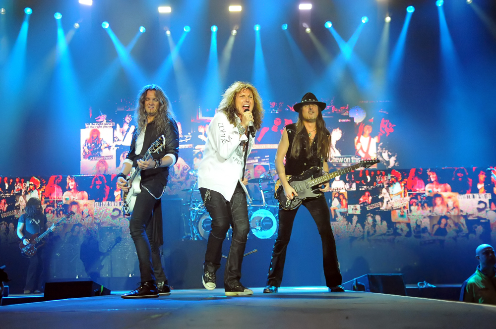 Whitesnake - Hydro, Glasgow, 10 December 2015